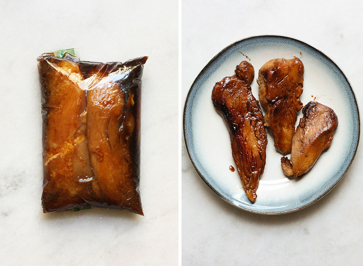 Asian honey before and after