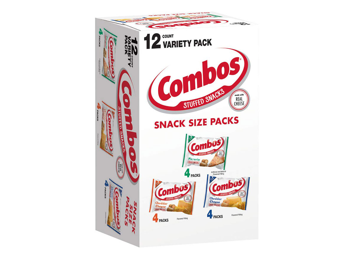 box of combos snack packs