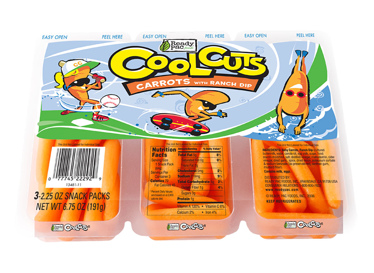 cool cuts carrots packages