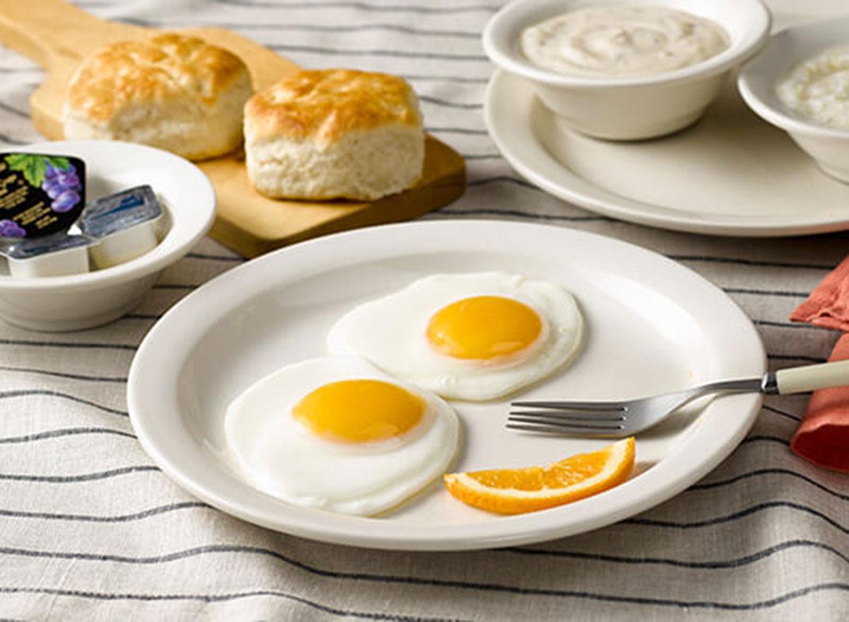 cracker barrel country morning breakfast