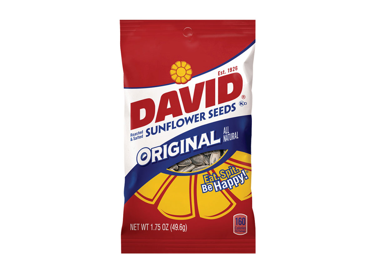 Package of original DAVIDS Sunflower seeds