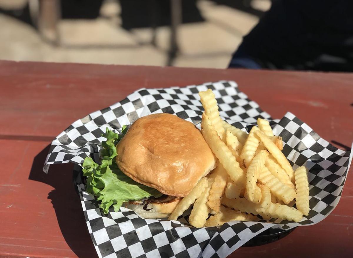 el caliente burger at papas burgers in san antonio