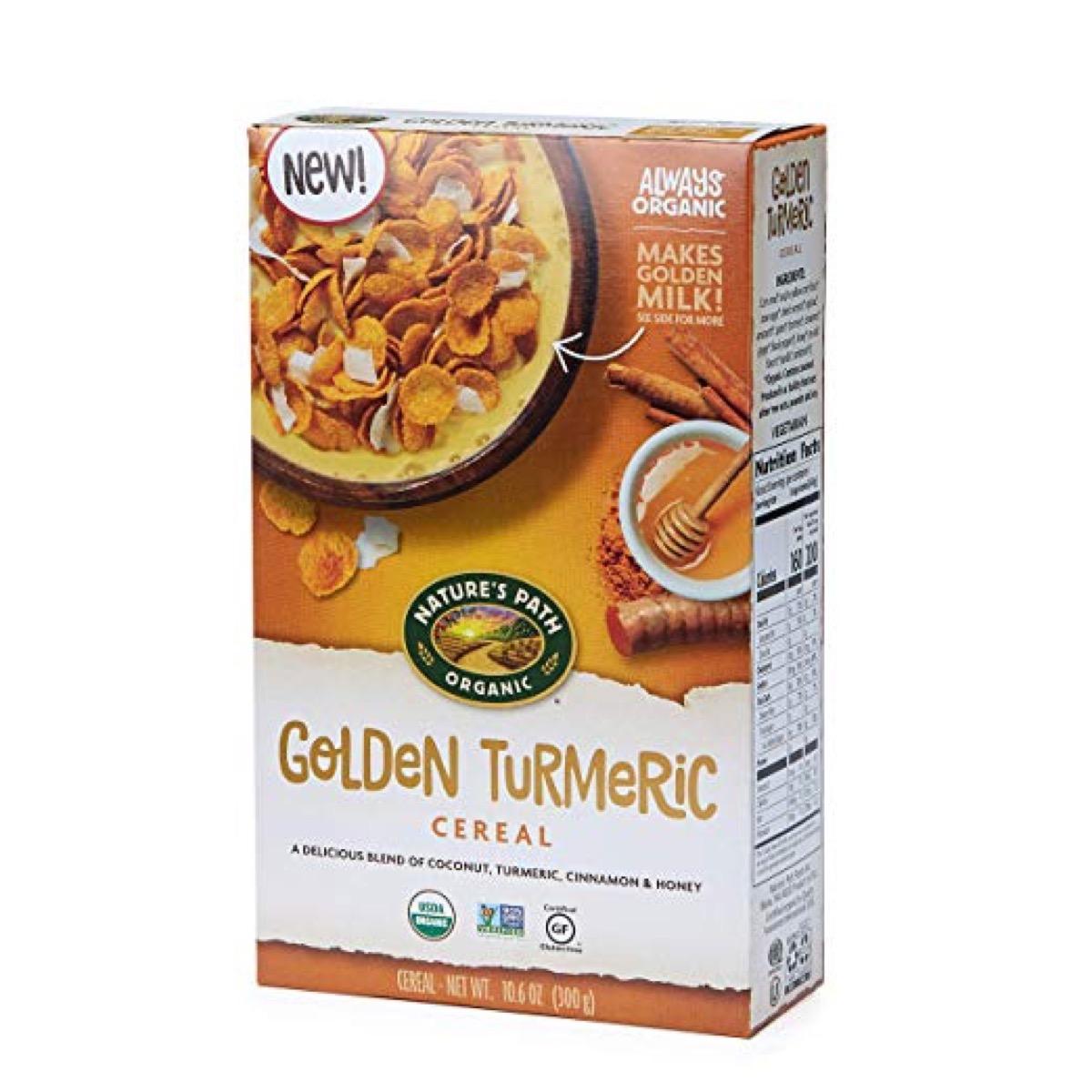 turmeric cereal flakes, peanut free preschool snacks