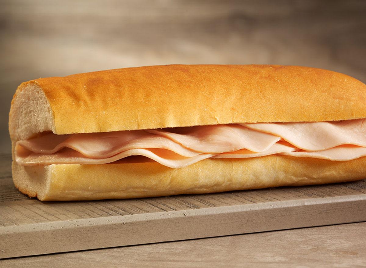 jimmy johns slim turkey sandwich