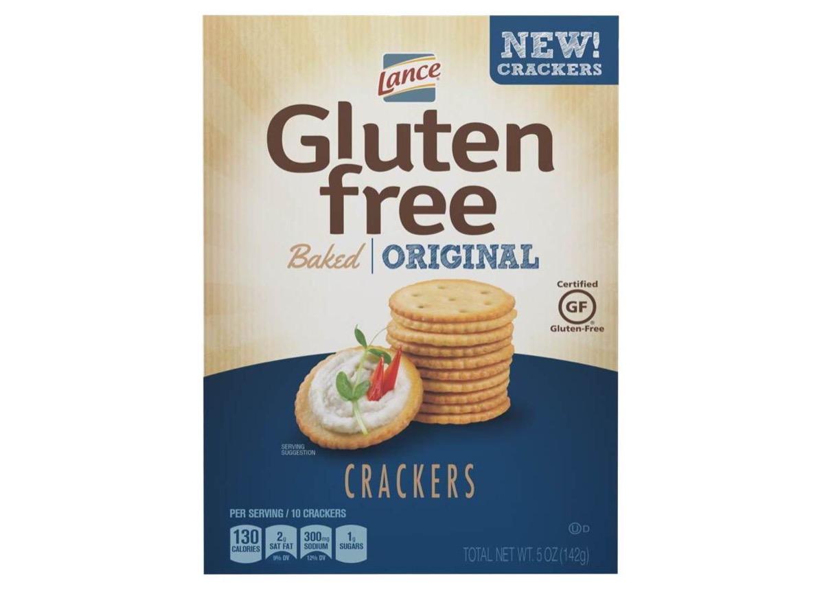 lance gluten-free baked crackers, gluten-free snacks