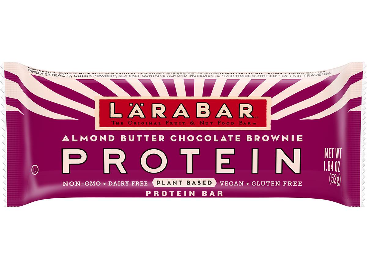 lara bar almond butter chocolate brownie protein
