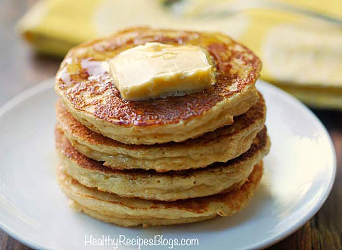 gluten free lemon ricotta pancakes healthy recipes blog
