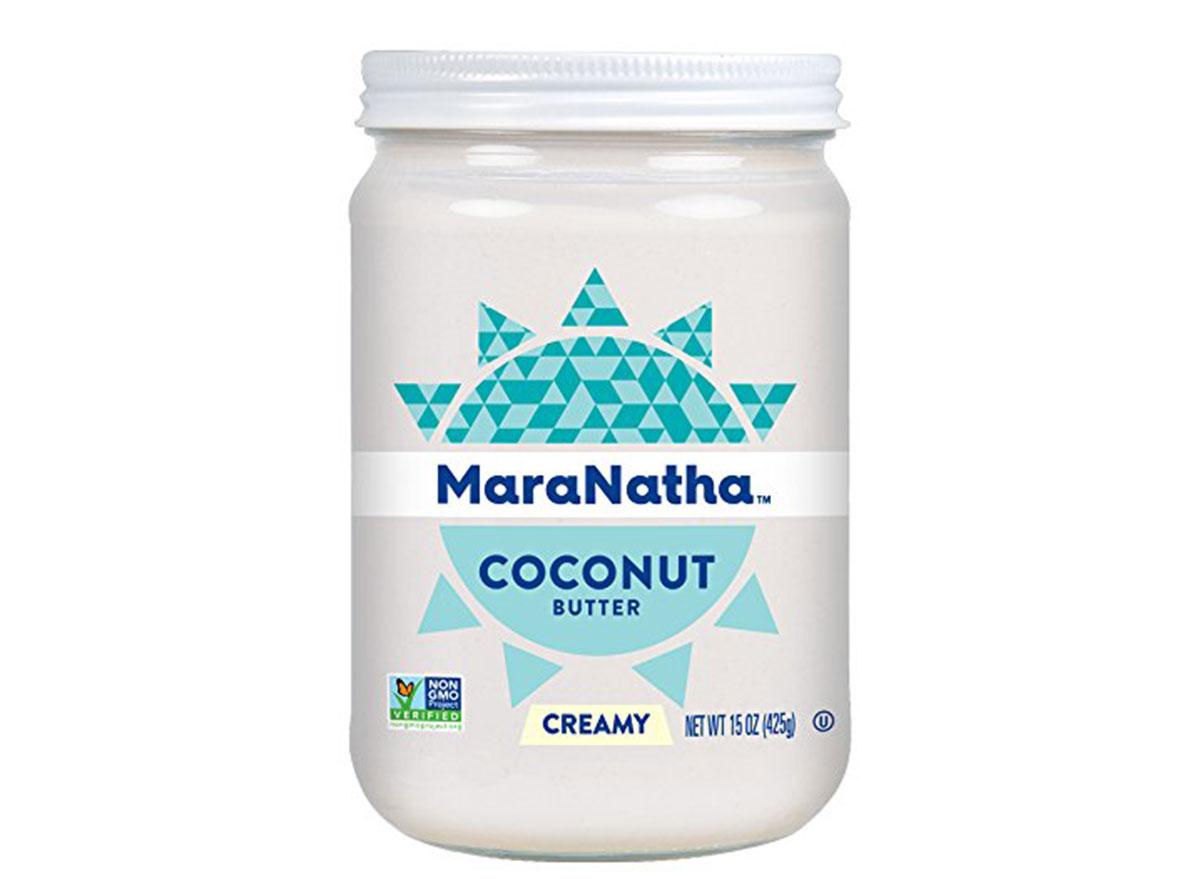 mara natha coconut butter jar