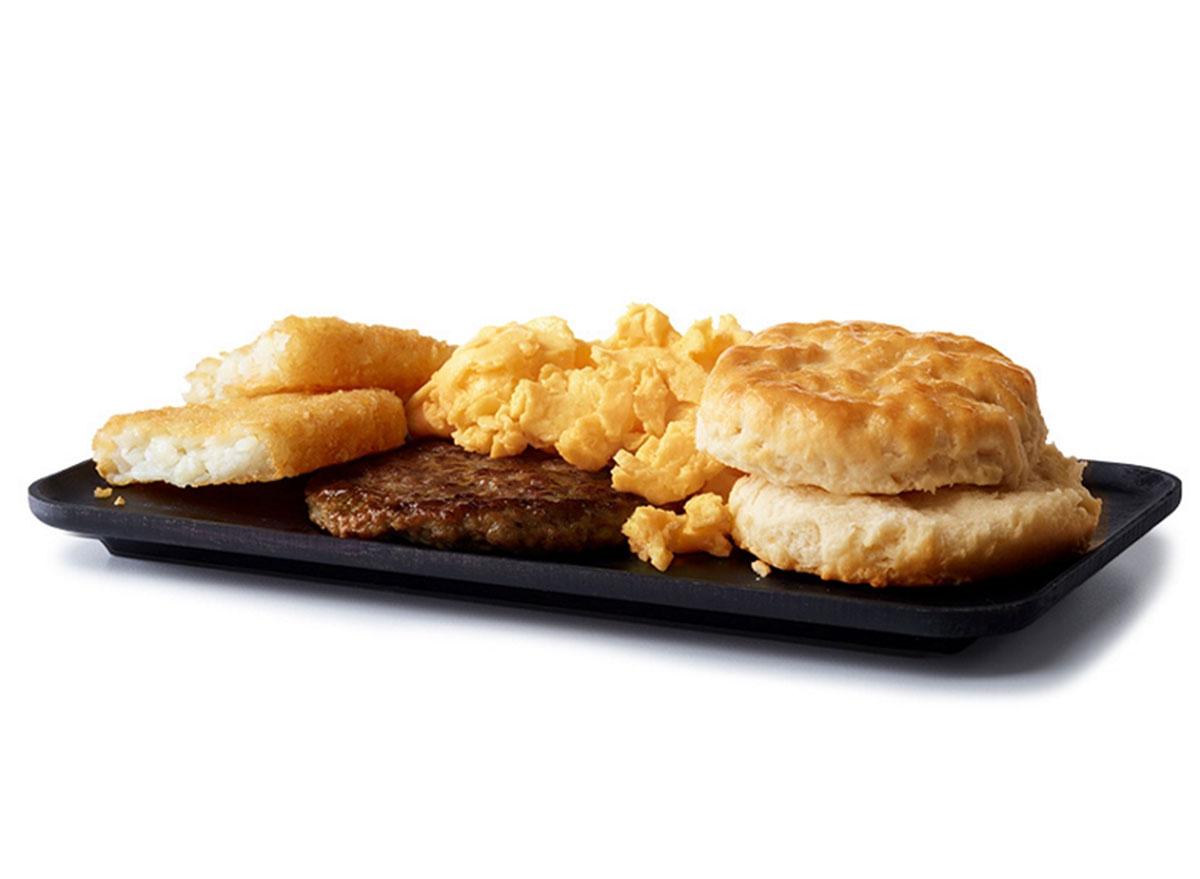 mcdonalds big breakfast regular size biscuit