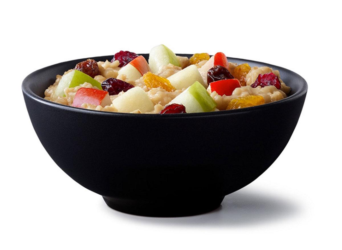 mcdonalds fruit maple oatmeal