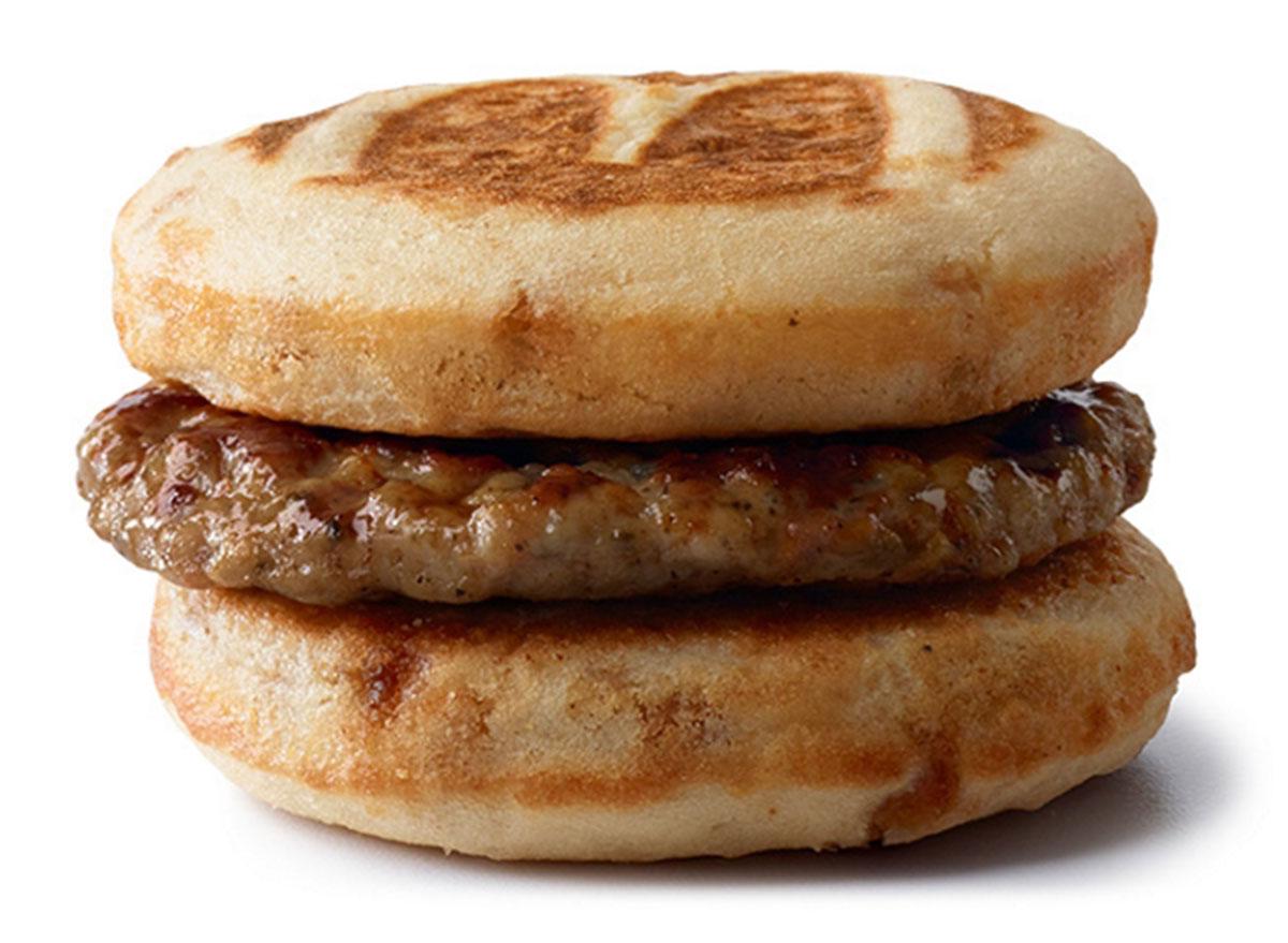 mcdonalds sausage mcgriddles