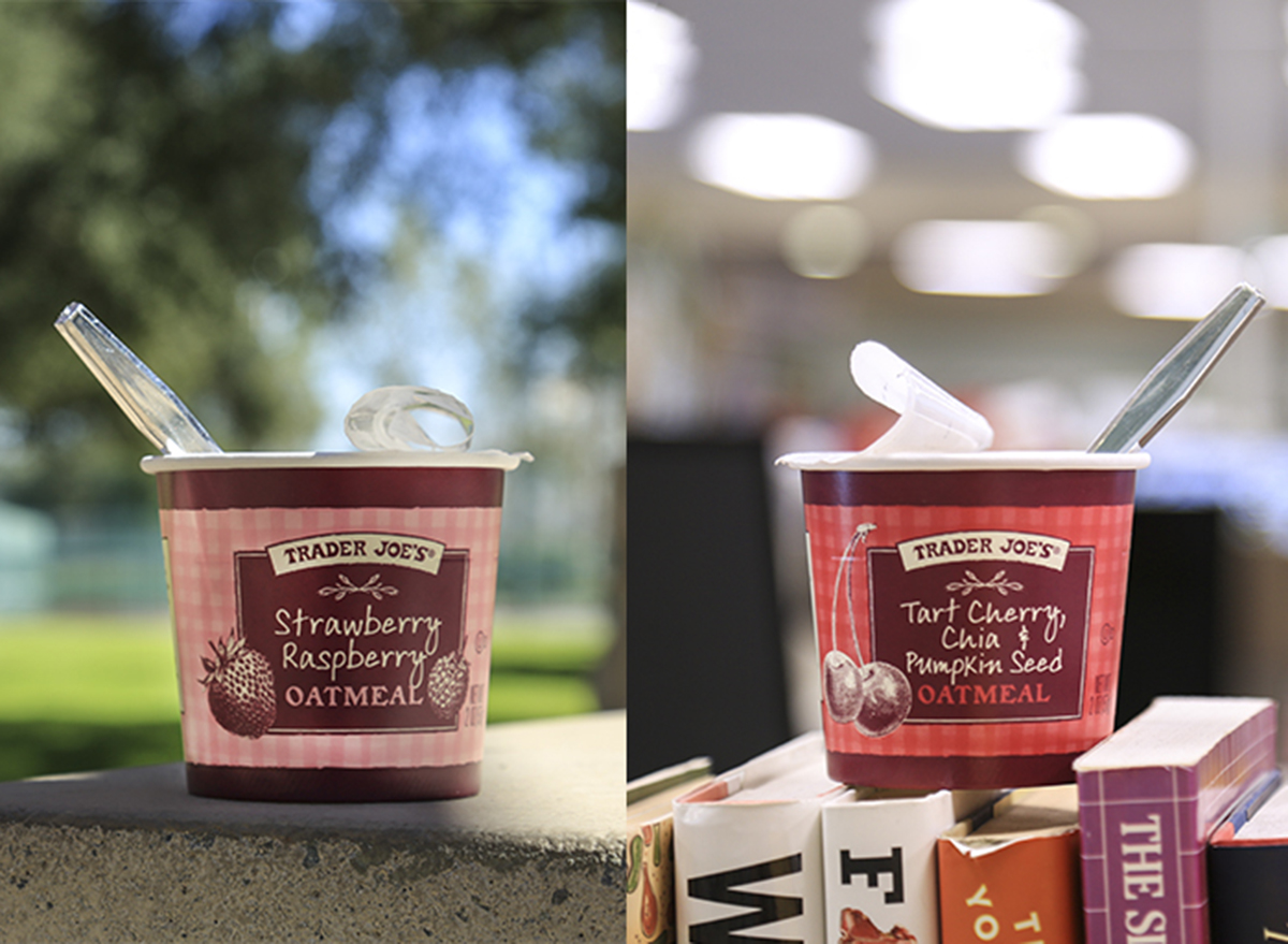 oatmeal cups from trader joe's