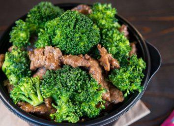healthiest restaurant dish panda express beef and broccoli