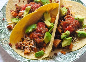 sweet potato and chorizo taco recipe