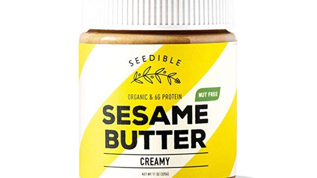 seedible sesame butter jar