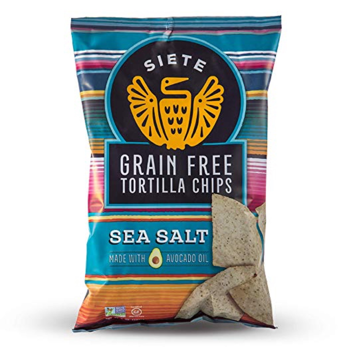 grain free sea salt tortilla chips, gluten-free snacks