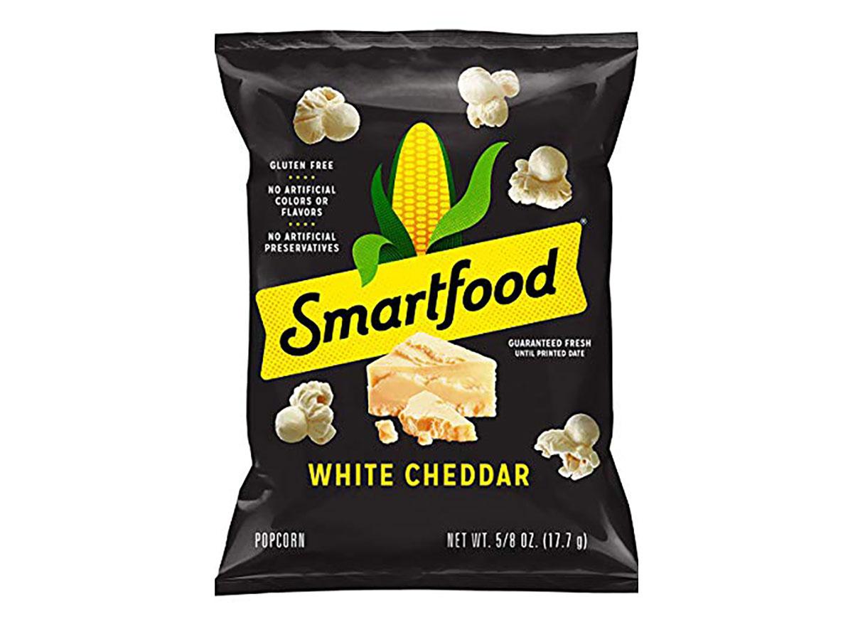 smartfood white cheddar popcorn bag