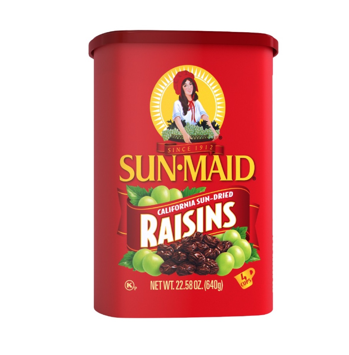 sun maid raisins, peanut free preschool snacks