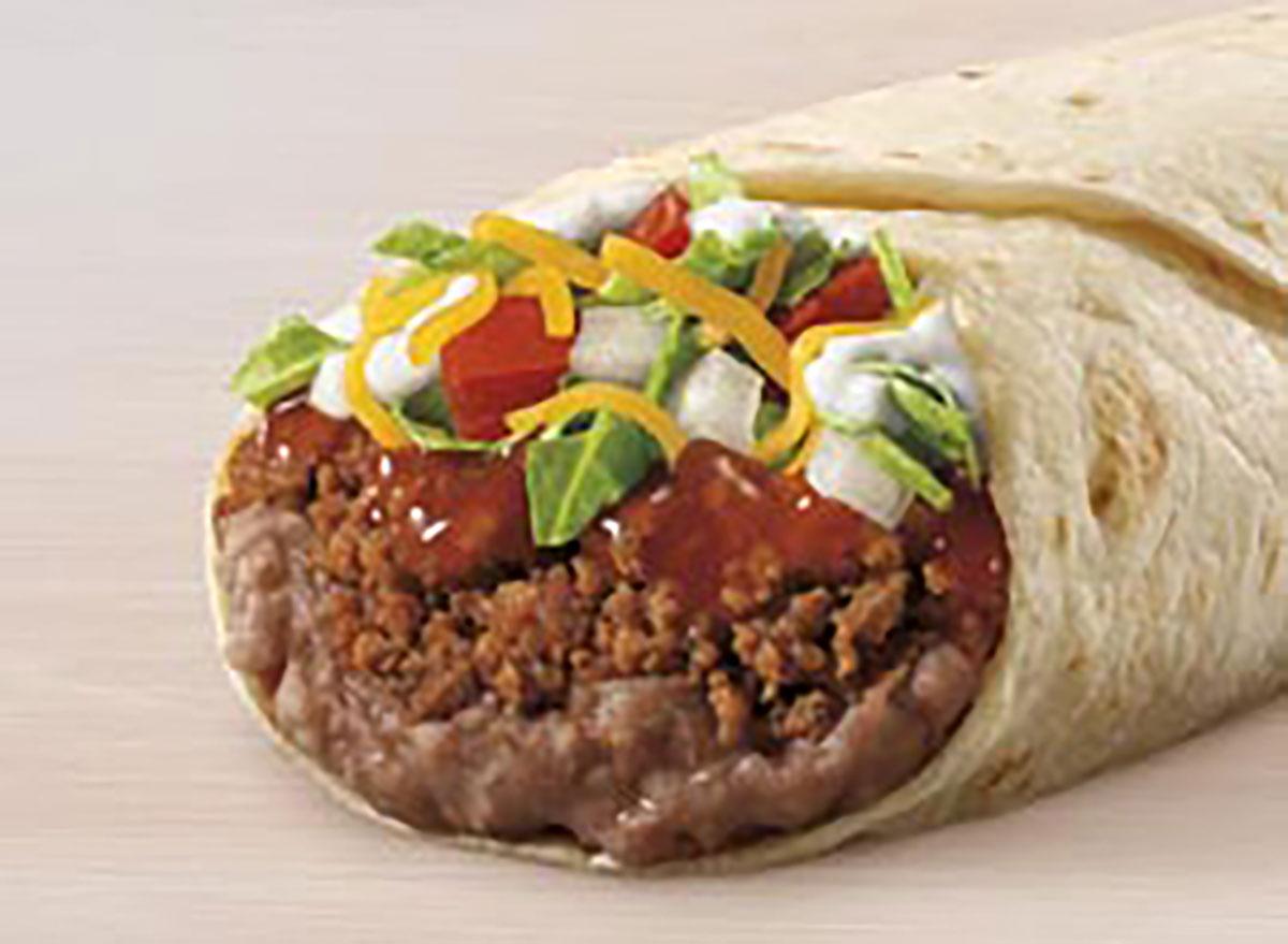 taco bell burrito supreme