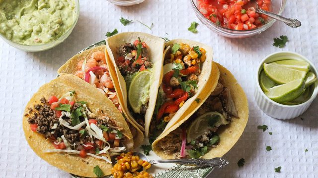 Different types of taco recipes for Taco Tuesday.