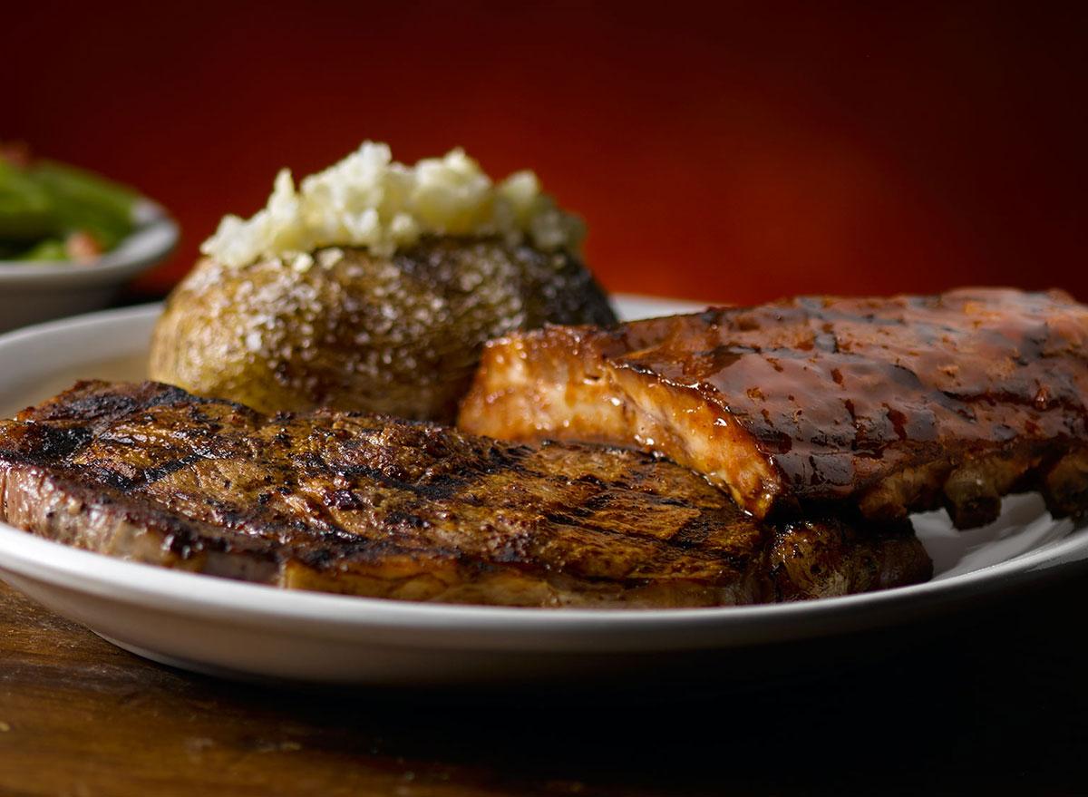 texas roadhouse 10oz ribeye ribs