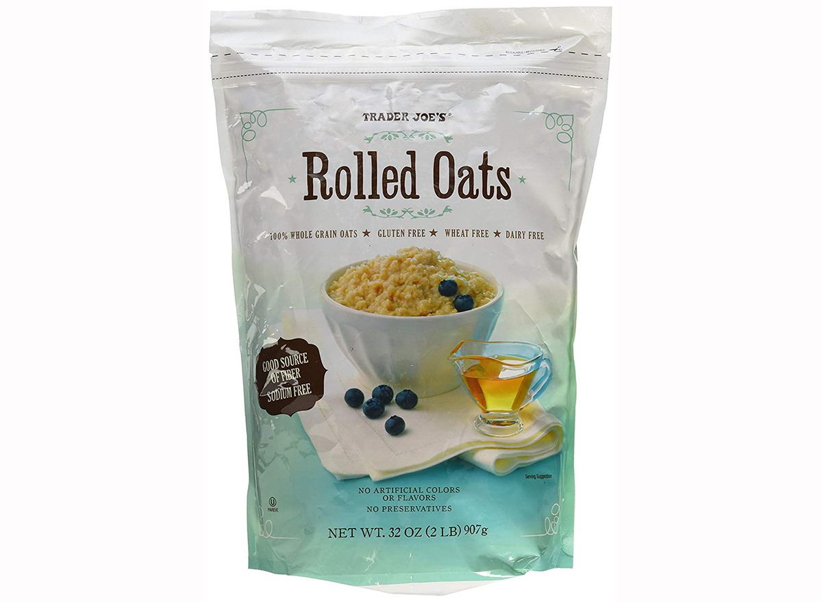 trader joe's rolled oats
