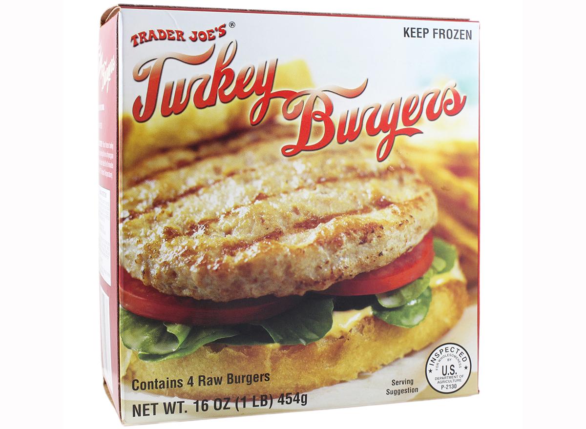 turkey burgers from trader joe's