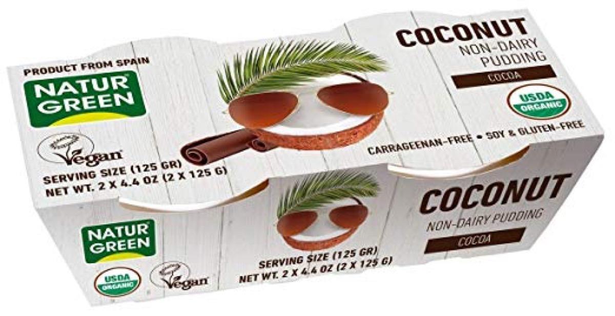coconut pudding, peanut free preschool snacks