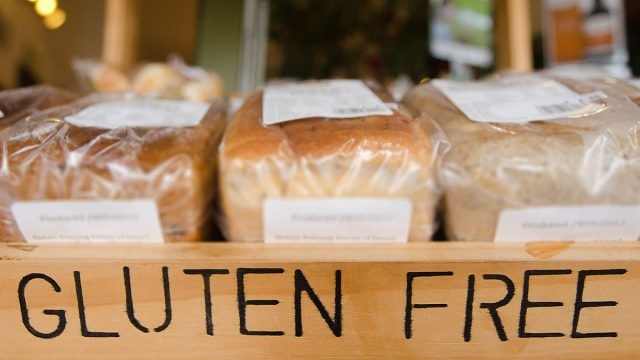 Gluten free bread ready for purchase, for those on the gluten free diet.