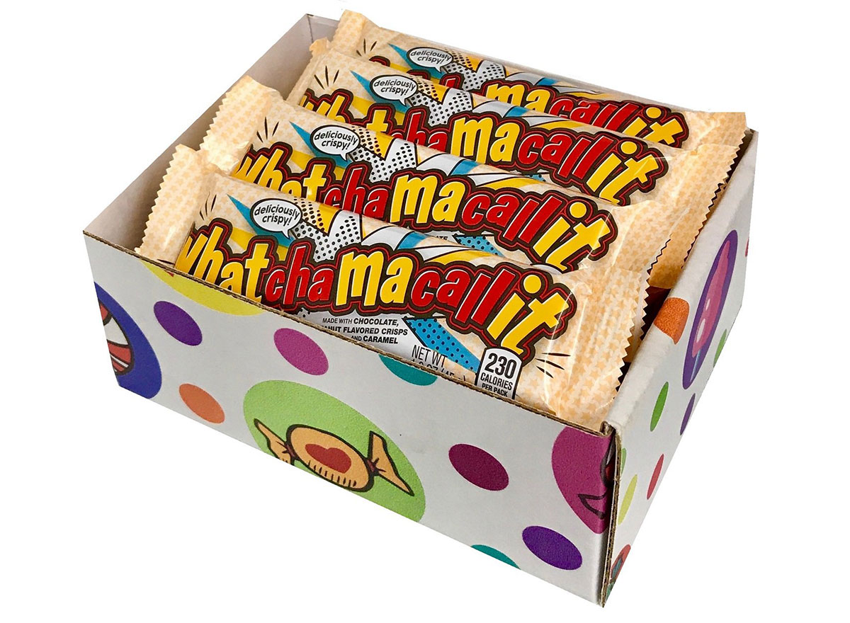 box of whatchamacallit candy bars