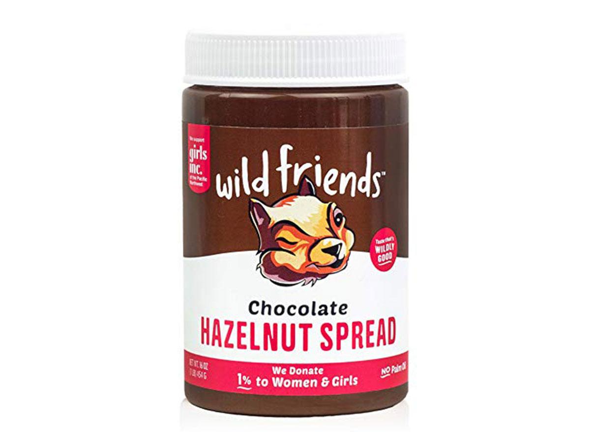wild friends chocolate hazelnut spread jar