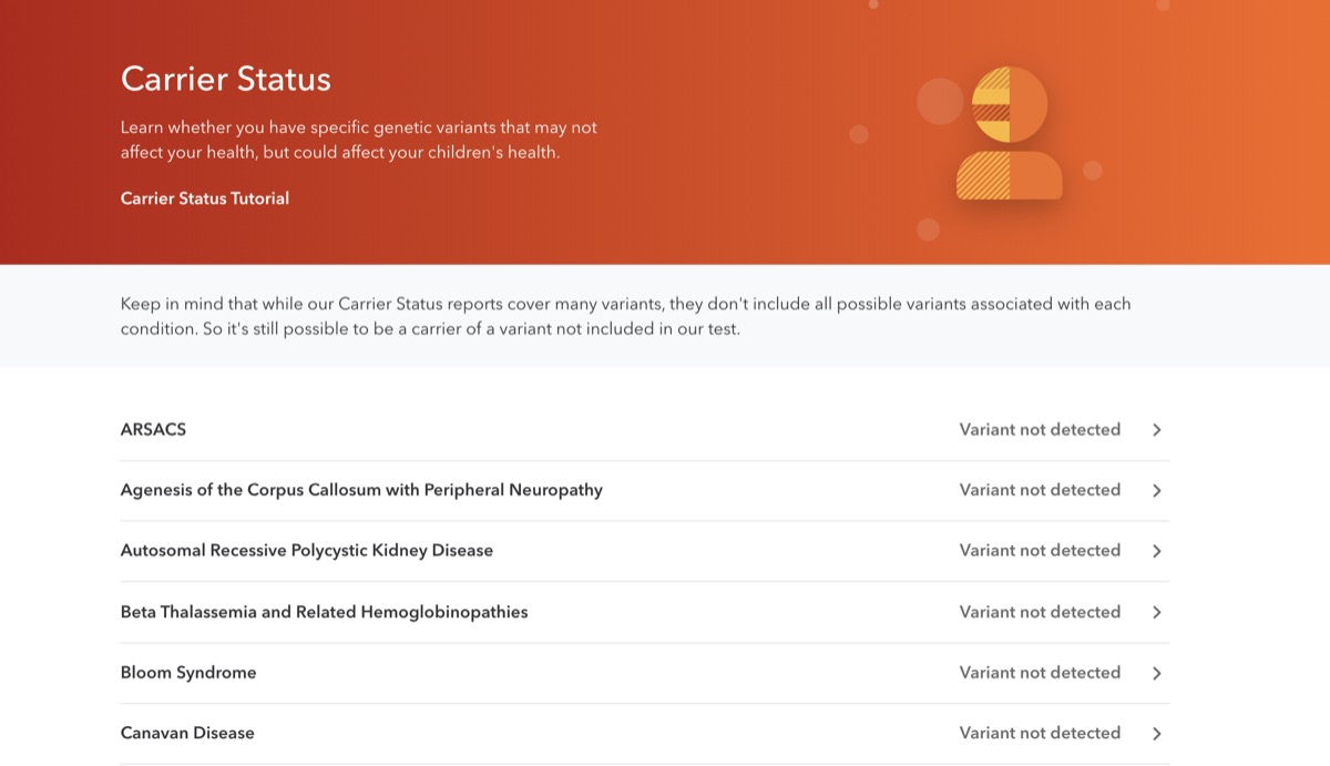 23andme career status