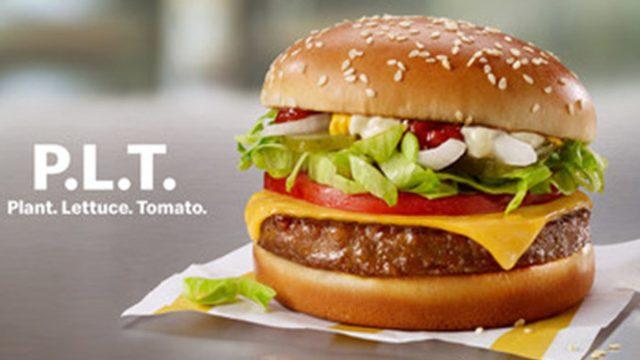 mcdonalds plt burger