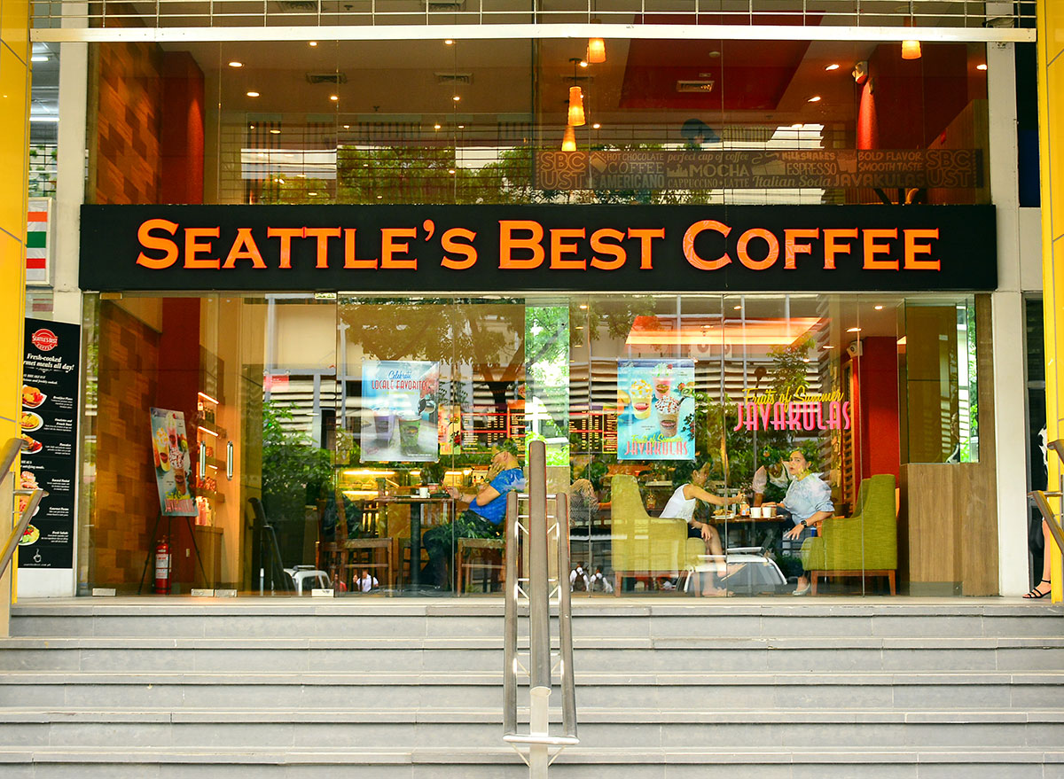 Seattle's Best Coffee outside the location