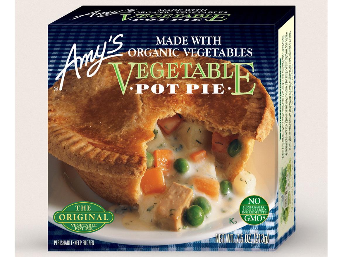 amys vegetable pot pie