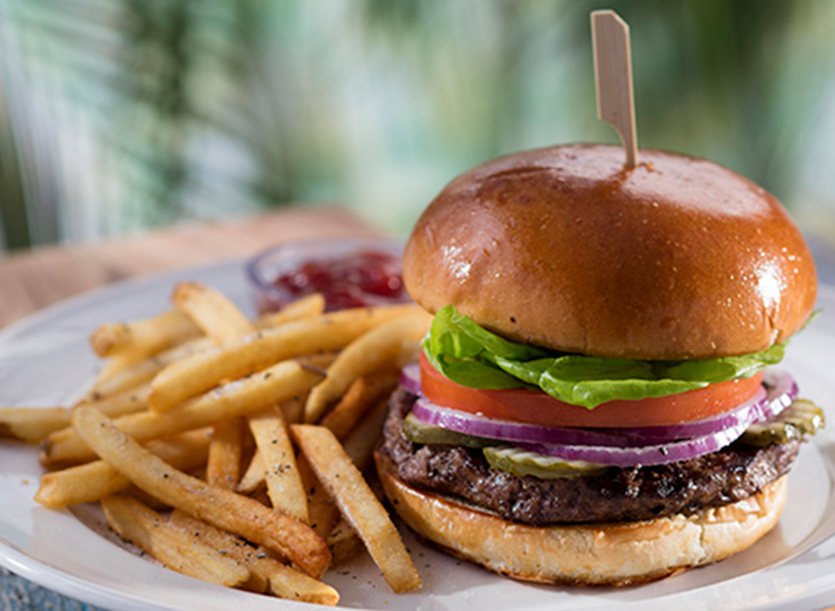 bahama breeze grilled burger