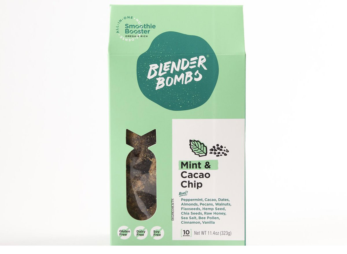 blender bombs mint cocao chip