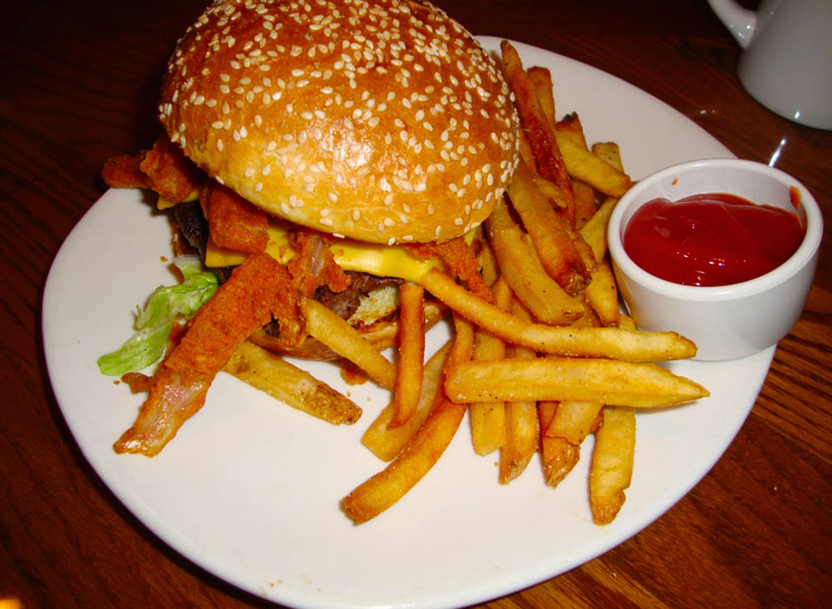 bloomin burger from outback steakhouse