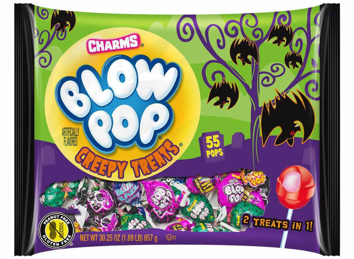 blow pop creepy treats