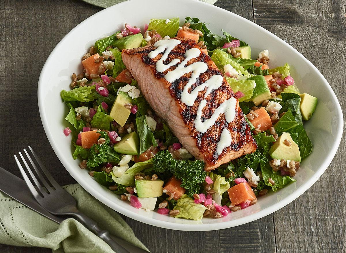 bonefish grill grilled salmon superfood salad