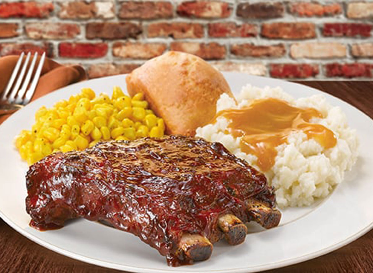 boston market rack of ribs