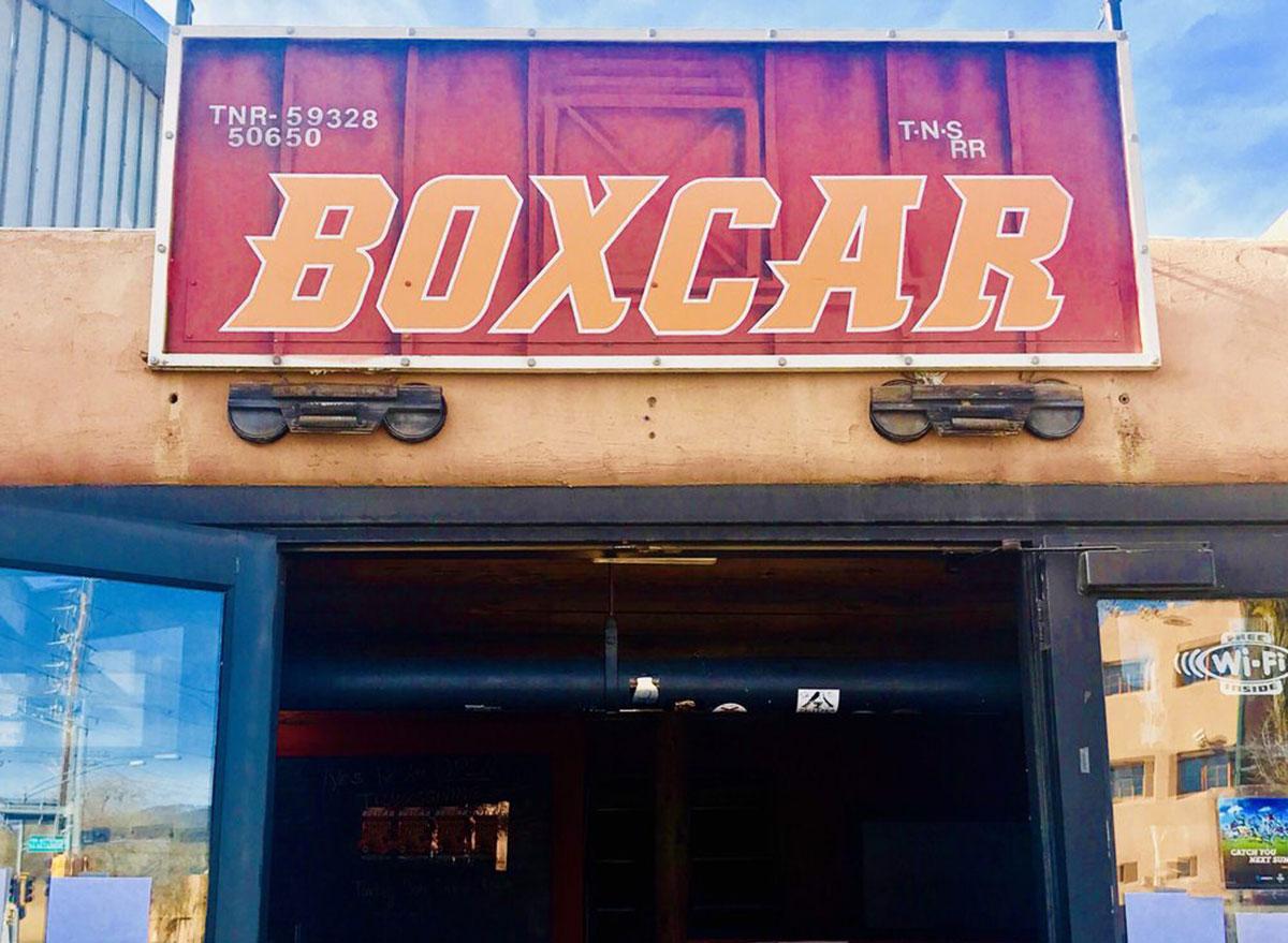 boxcar bar grill sports bar new mexico