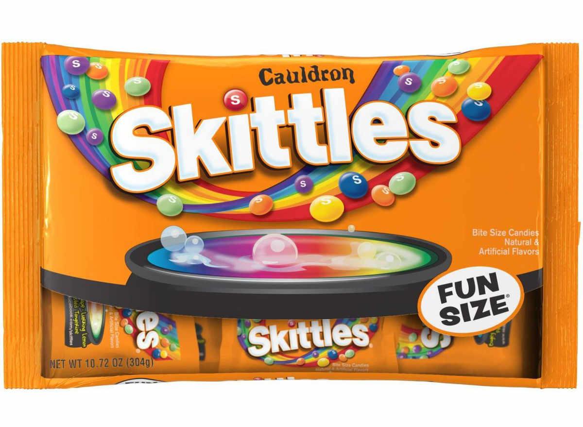 cauldron skittles fun size