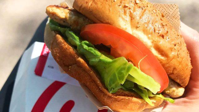 chick fil a grilled chicken sandwich