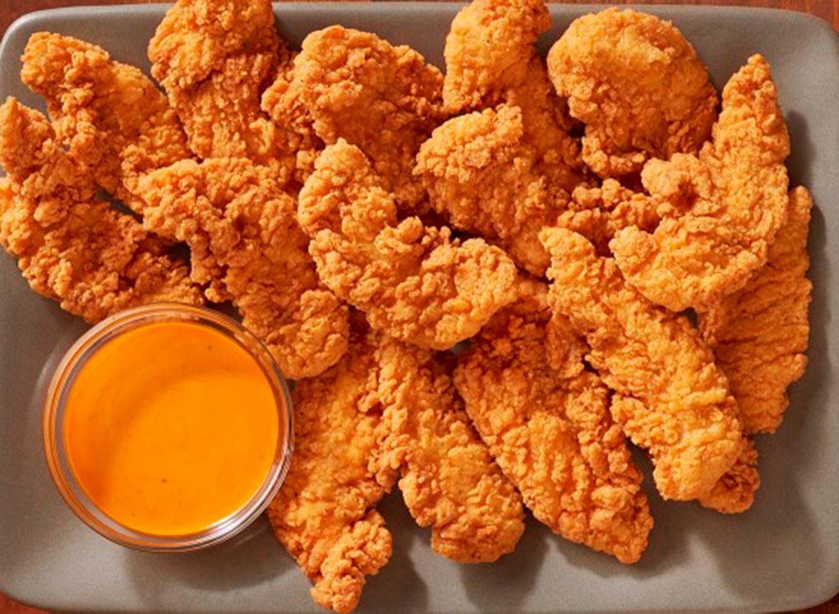 chicken tender platter from outback steakhouse