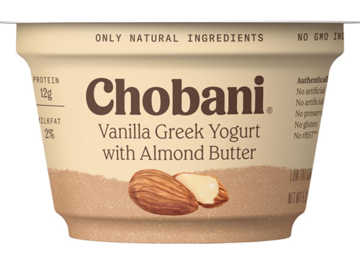 chobani greek yogurt nut butter
