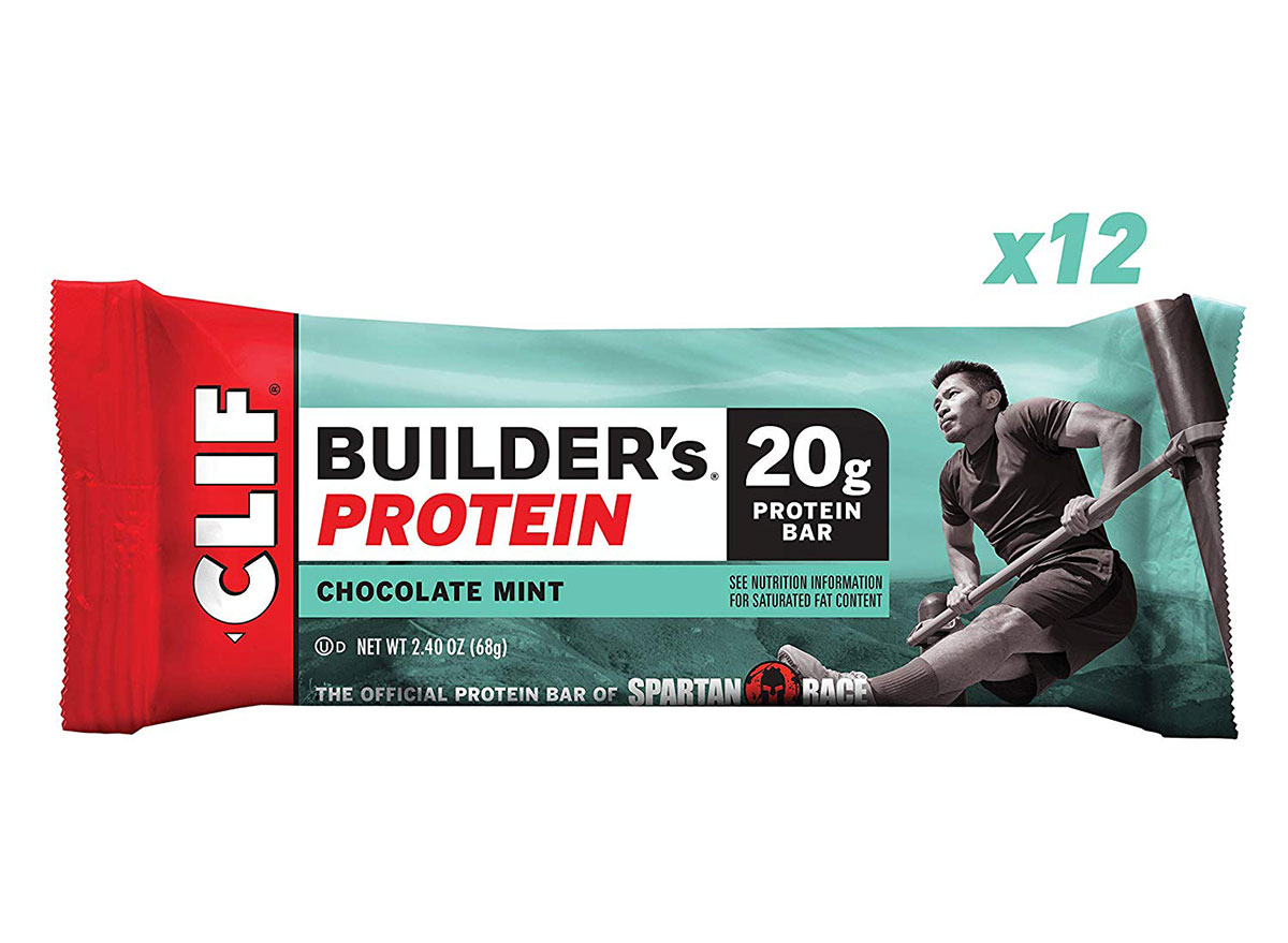 clif builders chocolate mint protein bar
