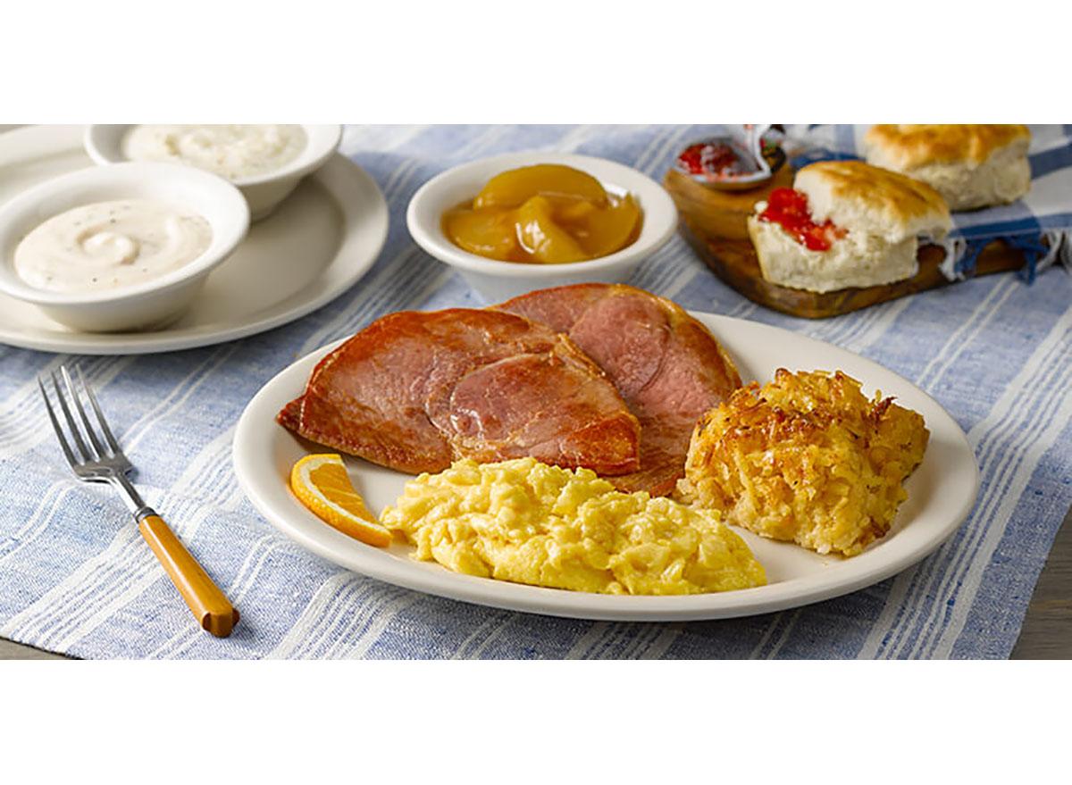 cracker barrel country boy breakfast