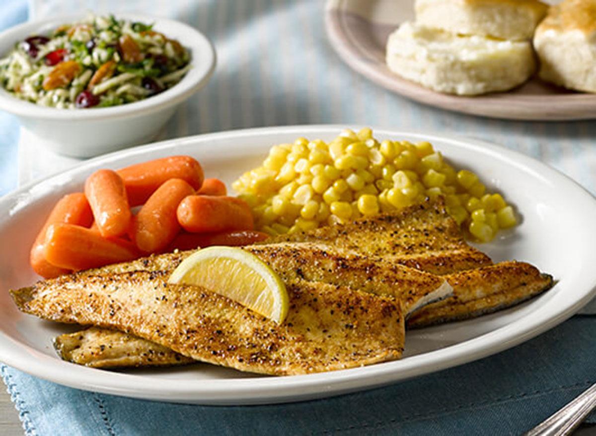 cracker barrel lemon pepper trout