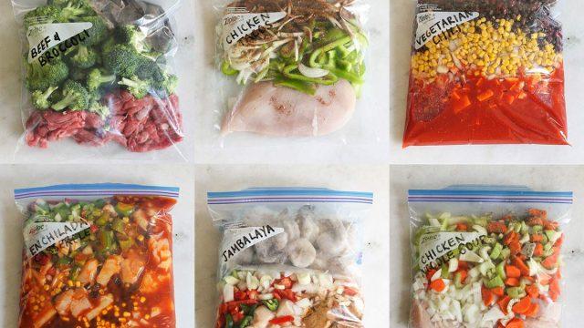 crock pot freezer meals in bags